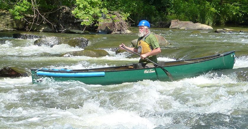 Nelson Downriver Race - 2016 - Solo Canoe Racers